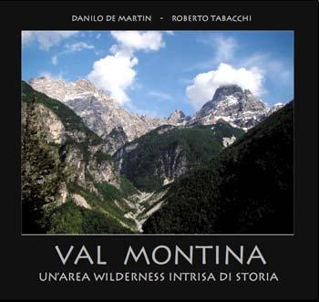 La testata della Val Montina, cui fanno da anfiteatro la Cima dei Preti ed il Duranno, ripresa dal Col Strassèi